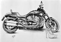 kresba_zatisi-motorka_harleydavidson-lodicky