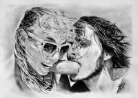 kresba_drawing_charcoal_portret_selfie-pred_svatbou