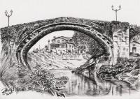 kresba_krajina-kamenny_most