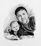 kresba-obraz-portret-dvojice-dite-mimino-nazakazku-art-realisticka-RadekZdrazil-20180321