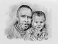kresba-portret-dite-deda-dvojice-nazakazku-art-realisticka-RadekZdrazil-20180213