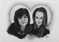 kresbanaprani-portret-dvojice-matka-dcera-nazakazku-art-realisticka-RadekZdrazil-20181212
