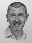 Andrej_Babiš-kresbanaprani-portret-obraz-nazakazku-kresby-art-realisticka-A3-RadekZdrazil